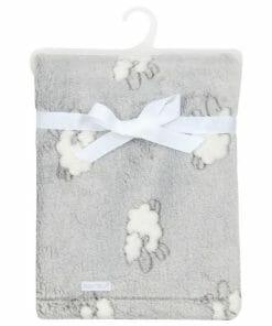 Deka za bebu - siva ovca