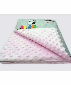 minky deka za bebu